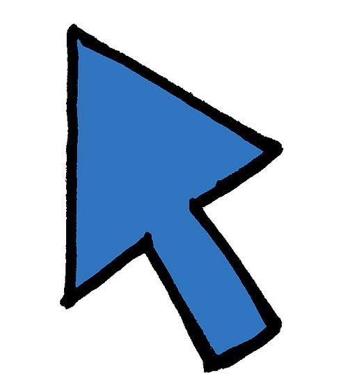 arrow cursor square