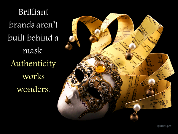 authenticity works wonders hubspot
