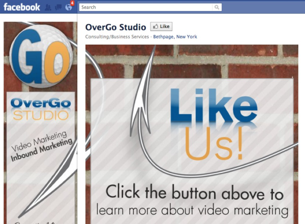 B2B Facebook Landing Page Example resized 600