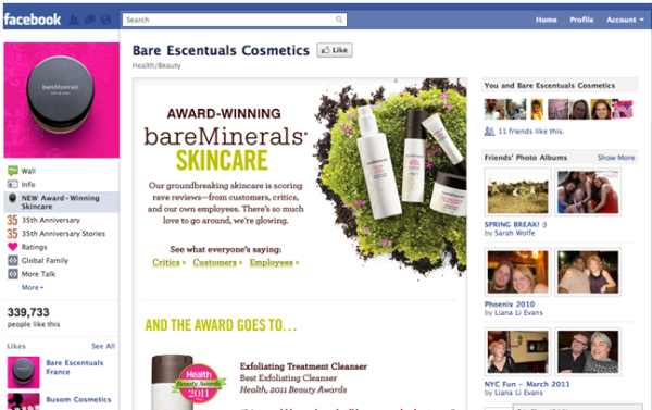 bare escentuals facebook page conversions beisenberg resized 600