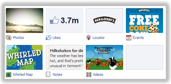 ben and jerrys facebook apps