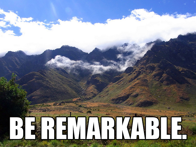 beremarkable