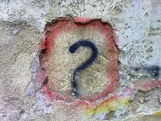 Question Mark Graffiti - bilal-kamoon
