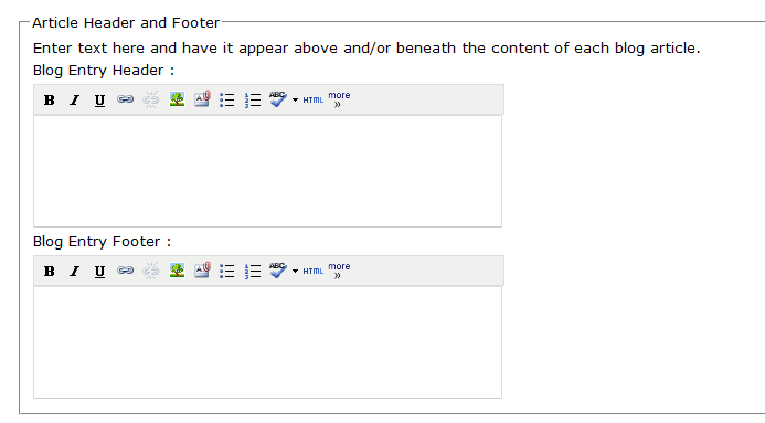 Blog Footer within HubSpot