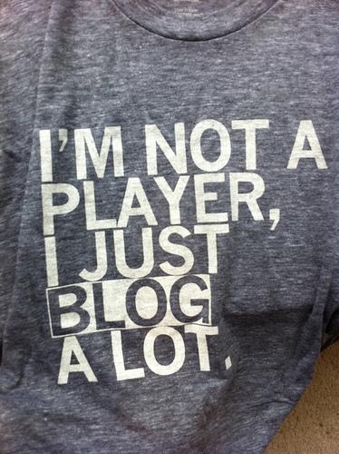 """""""Blog a Lot"""" T-Shirt"""