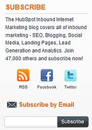 blog subscribe