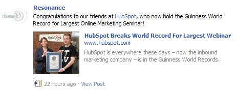 brand evangelism on facebook