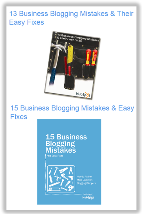 business blogging ebooks