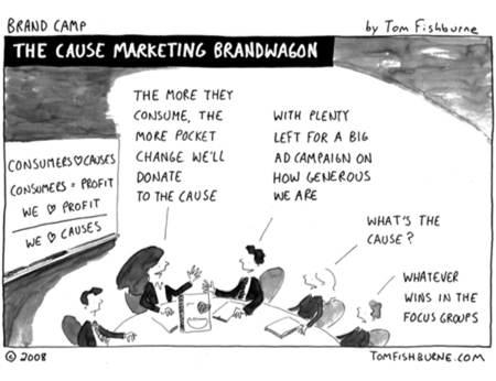 cause marketing bandwagon