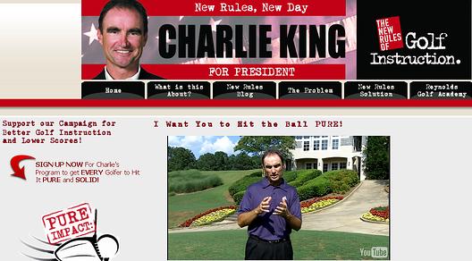 Charlie King for President