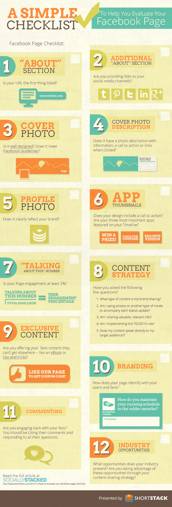 checklist infographic