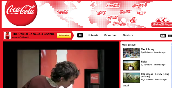 Why Coca-Cola Says Their True Homepage is Not Coke.com