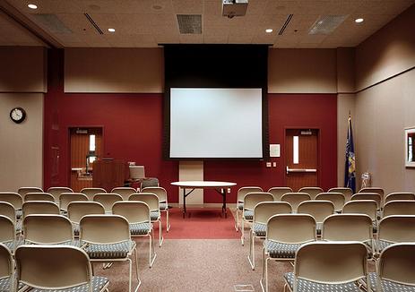 conference room, presentation