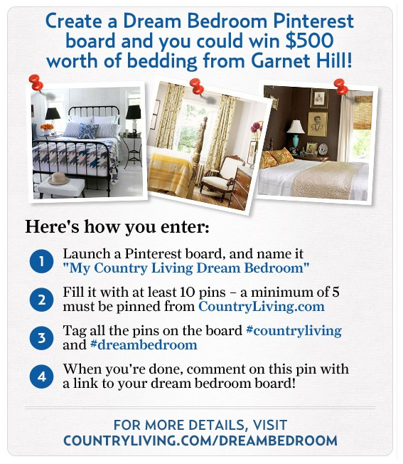 Pinterest Contest Example Country Living