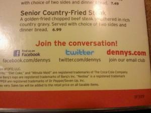 Denny's Missed Social Media Opportunity Twitter Mistake