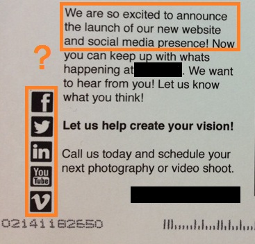 direct mail social media integration