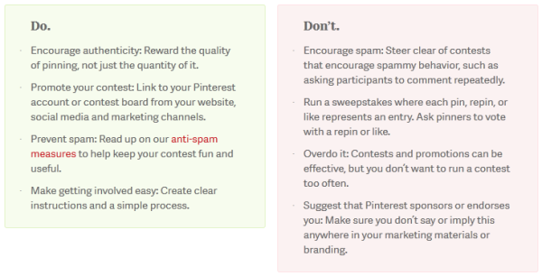 8 real life examples of engaging pinterest contests do dont pinterest contest resized 600 pronofoot35fo Images