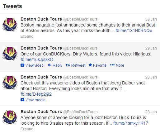 duck tours