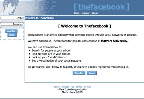 early Facebook