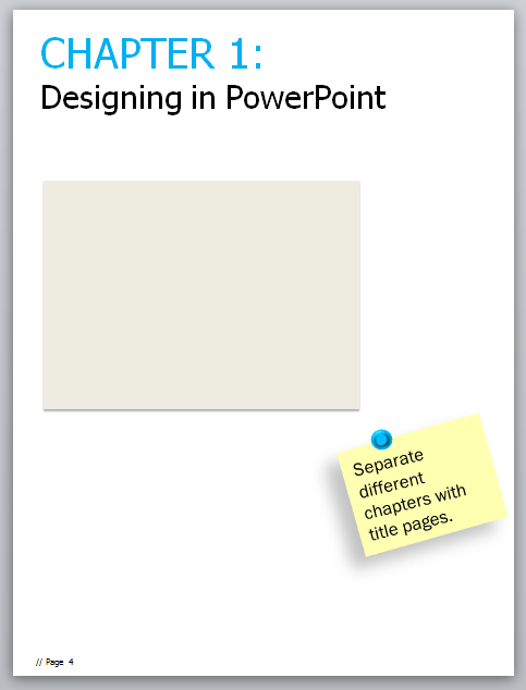 A Simple PowerPoint Ebook Template for Mere Marketing Mortals