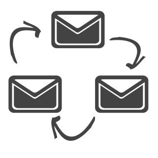 email circle