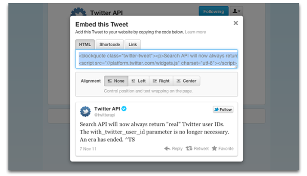 Embeddable Tweet Options resized 600
