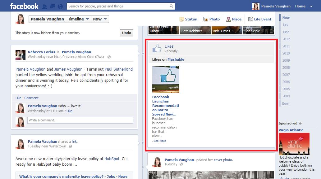 facebook share likes