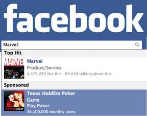 facebook sponsored results zynga