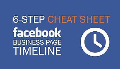 your cheat sheet for the new facebook page timeline design