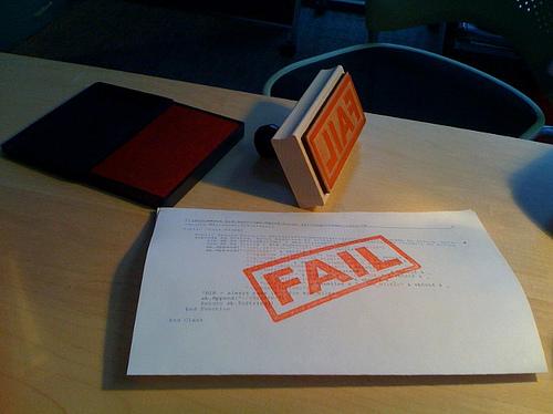 Fail Image
