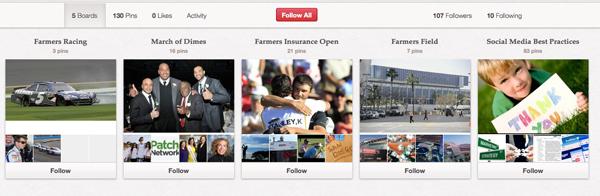 Farmers' Group Pinterest