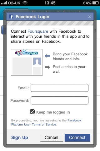 mobile marketing with foursquare