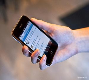 foursquare iphone