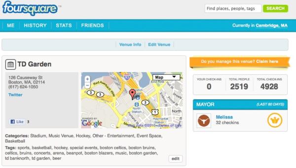foursquare    TD Garden    Boston, MA resized 600