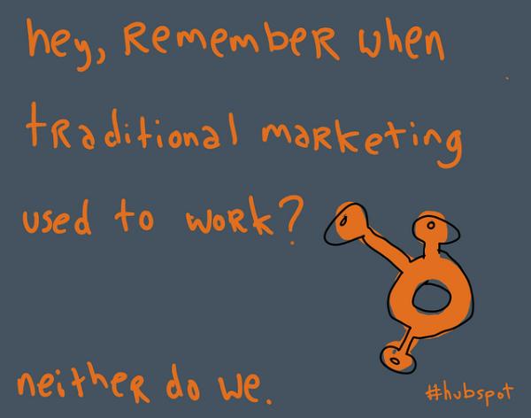 gapingvoid on inbound marketing
