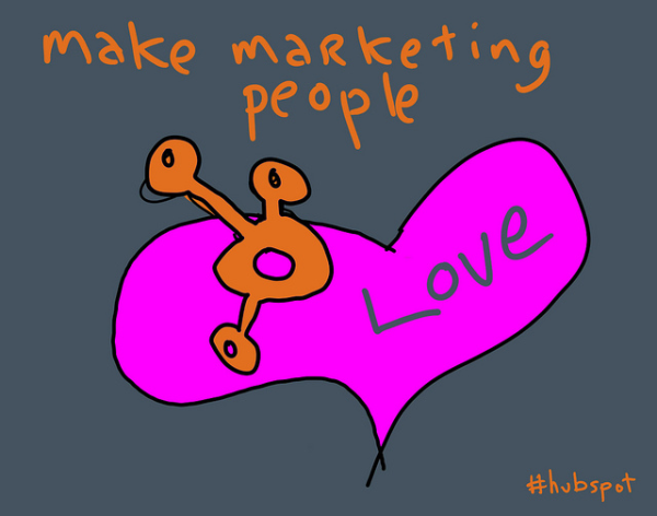 make marketing people love gapingvoid