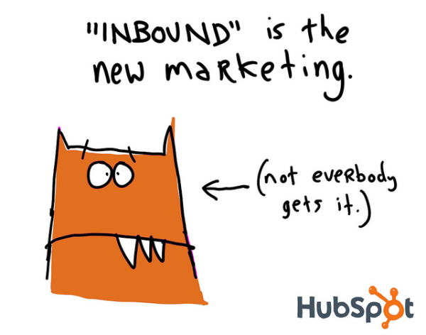 inbound is the new marketing gapingvoid