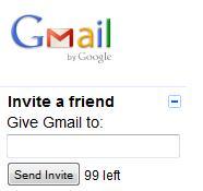 Gmail Invitations