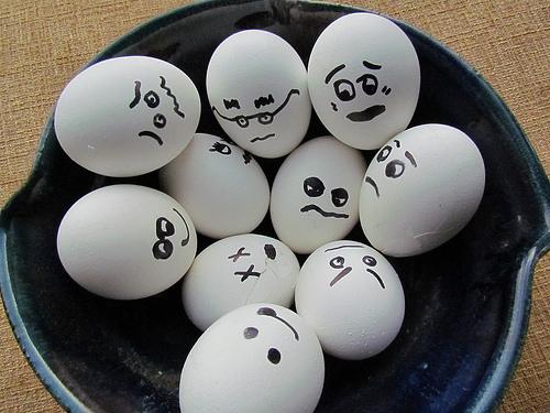 good bad eggs