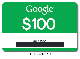 Google Adwords paid search PPC coupon