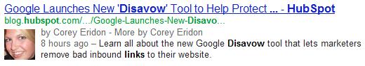 google plus author tag