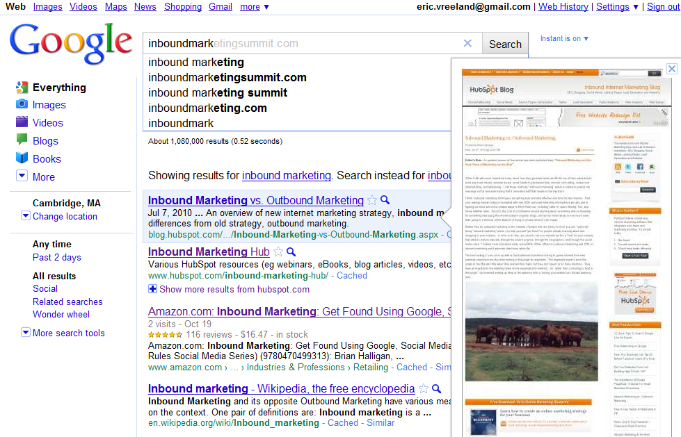4 SEO Tips to Instantly Take Advantage of Google Instant Preview