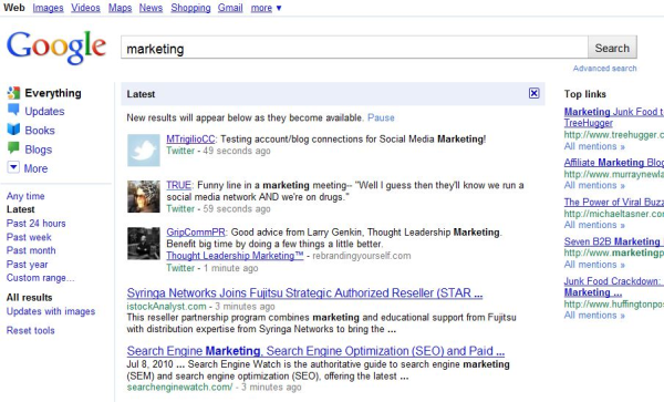 marketing serp