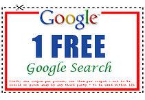 Google coupon