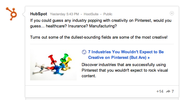 HubSpot on Google+