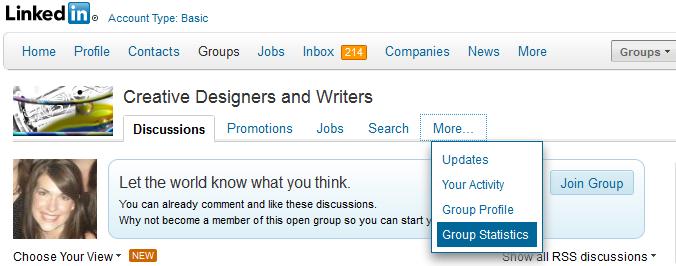 4 Genius Ways to Use LinkedIn Group Statistics for Lead Gen