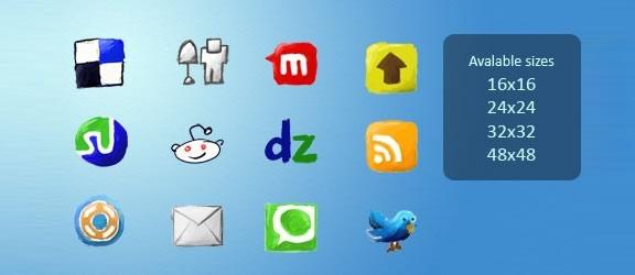 handycons icon set