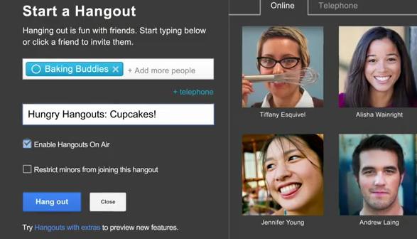 hangouts on air invite