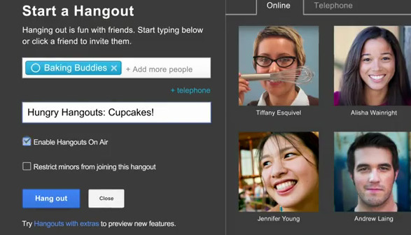 hangouts on air invite