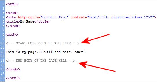 HTMLTricks CommentsTag